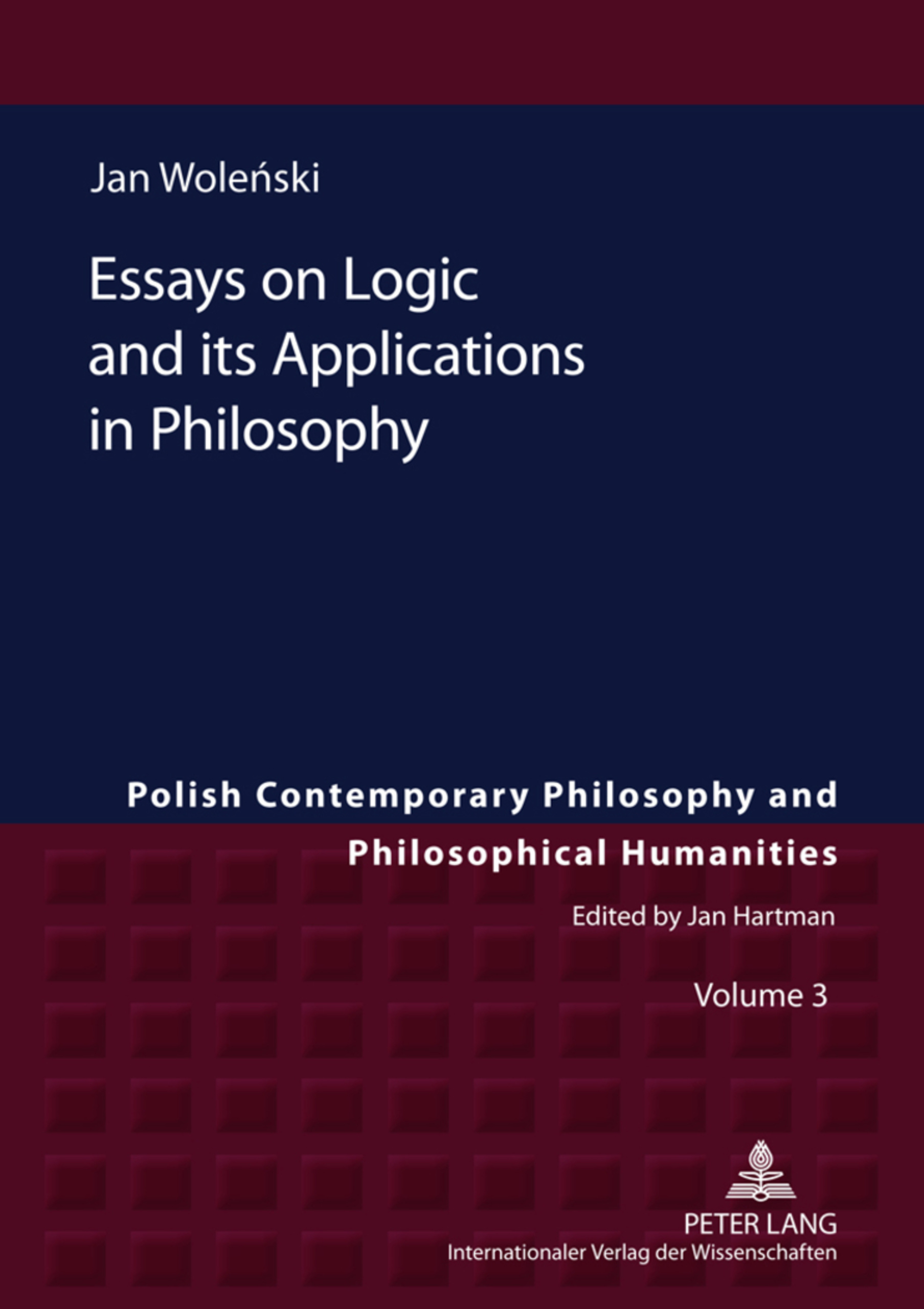 Title: Essays on Logic and its Applications in Philosophy