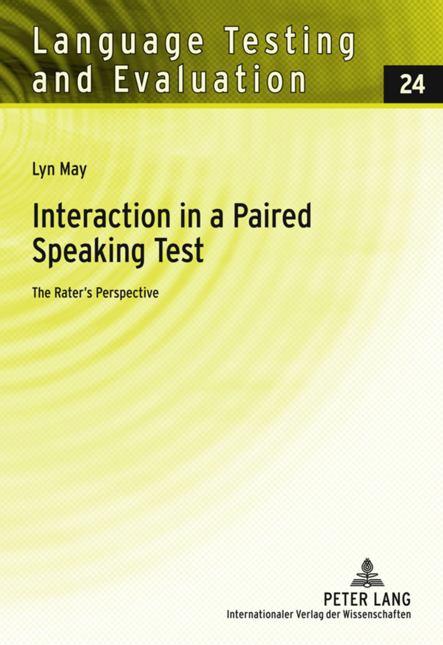 Title: Interaction in a Paired Speaking Test