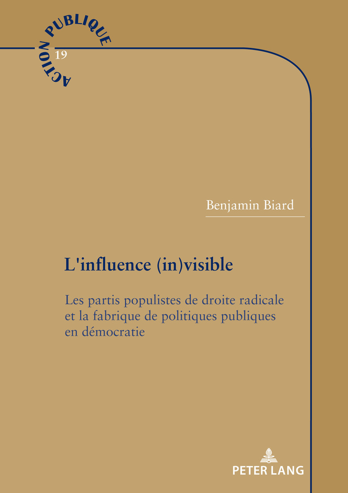 Titre: L'influence (in)visible
