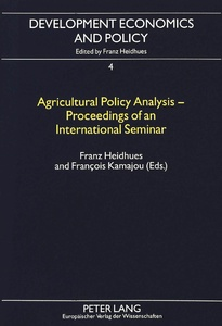 Title: Agricultural Policy Analysis - Proceedings of an International Seminar