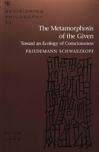 Title: The Metamorphosis of the Given