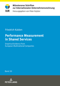 Title: Performance Measurement in Shared Services