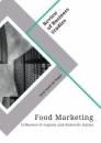 Titel: Food Marketing. Influence of organic and domestic claims