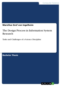 Titel: The Design Process in Information System Research
