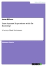Titel: Least Squares Regressions with the Bootstrap