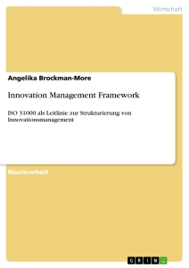 Titel: Innovation Management Framework