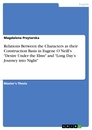 """Titel: Relations Between the Characters as their Construction Basis in Eugene O'Neill's """"Desire Under the Elms"""" and """"Long Day's Journey into Night"""""""