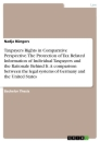 Titel: Taxpayers Rights in Comparative Perspective. The Protection of Tax Related Information of Individual Taxpayers and the Rationale Behind It. A comparison between the legal systems of Germany and the United States