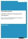 Titel: The Role of Media in Promoting Social Development