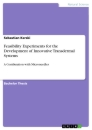 Titel: Feasibility Experiments for the Development of Innovative Transdermal Systems