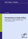 Titel: The Importance of Codes of Ethics