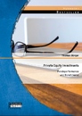 Titel: Private Equity Investments: Fondsperformance und Benchmarks