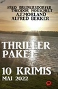 Titel: Thriller-Paket 10 Krimis September 2018