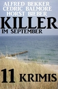 Titel: Killer im September: 11 Krimis