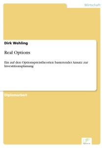Titel: Real Options