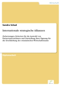 Titel: Internationale strategische Allianzen