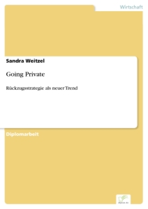 Titel: Going Private