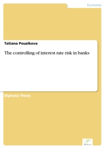 Titel: The controlling of interest rate risk in banks