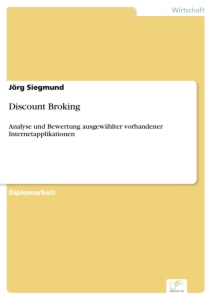 Titel: Discount Broking