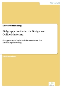 Titel: Zielgruppenorientiertes Design von Online-Marketing