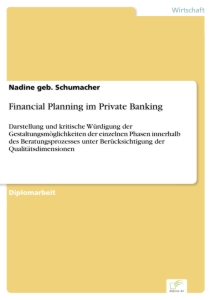 Titel: Financial Planning im Private Banking