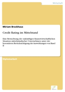Titel: Credit Rating im Mittelstand