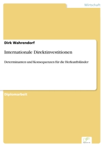 Titel: Internationale Direktinvestitionen