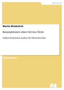 Titel: Konzeptionen eines Service-Tests