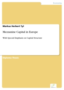 Titel: Mezzanine Capital in Europe