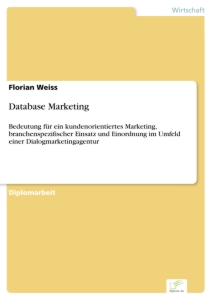 Titel: Database Marketing