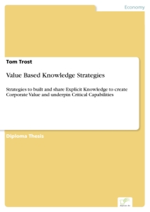 Titel: Value Based Knowledge Strategies
