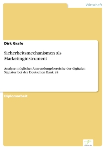 Titel: Sicherheitsmechanismen als Marketinginstrument