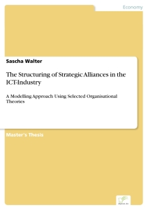 Titel: The Structuring of Strategic Alliances in the ICT-Industry
