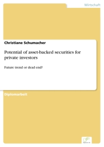 Titel: Potential of asset-backed securities for private investors