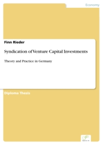 Titel: Syndication of Venture Capital Investments