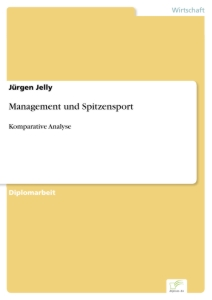 Titel: Management und Spitzensport