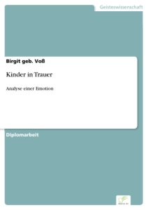 Titel: Kinder in Trauer