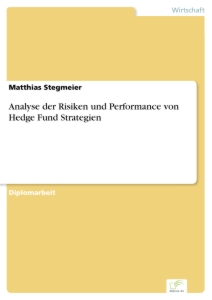 Titel: Analyse der Risiken und Performance von Hedge Fund Strategien