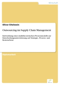 Titel: Outsourcing im Supply Chain Management