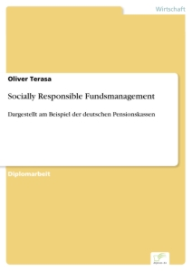 Titel: Socially Responsible Fundsmanagement