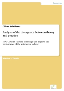 Titel: Analysis of the divergence between theory and practice