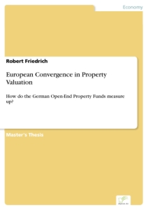 Titel: European Convergence in Property Valuation