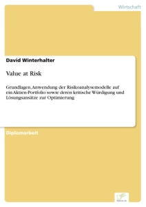 Titel: Value at Risk
