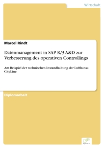 Titel: Datenmanagement in SAP R/3 A&D zur Verbesserung des operativen Controllings