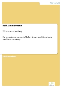 Titel: Neuromarketing