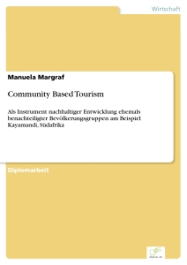 Titel: Community Based Tourism