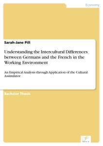 Titel: Understanding the Intercultural Differences between Germans and the French in the Working Environment