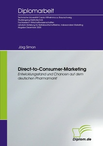 Titel: Direct-to-Consumer-Marketing