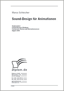 Titel: Sound Design für Animationen
