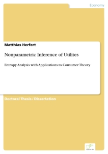 Titel: Nonparametric Inference of Utilites